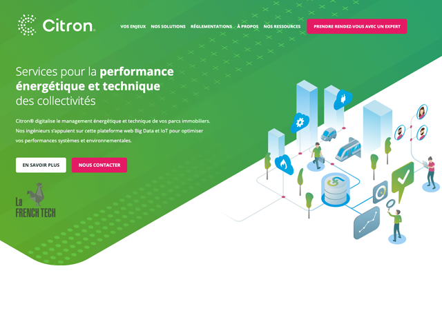 Site Web Green Alternative Citron