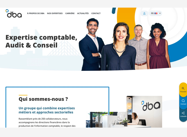 Création site DBA
