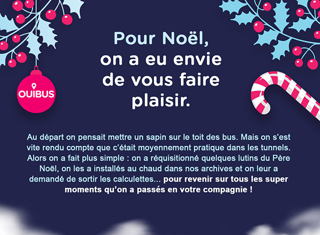 Newsletter Ouibus