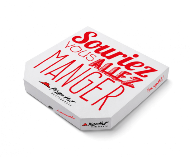 Packaging Pizza Hut