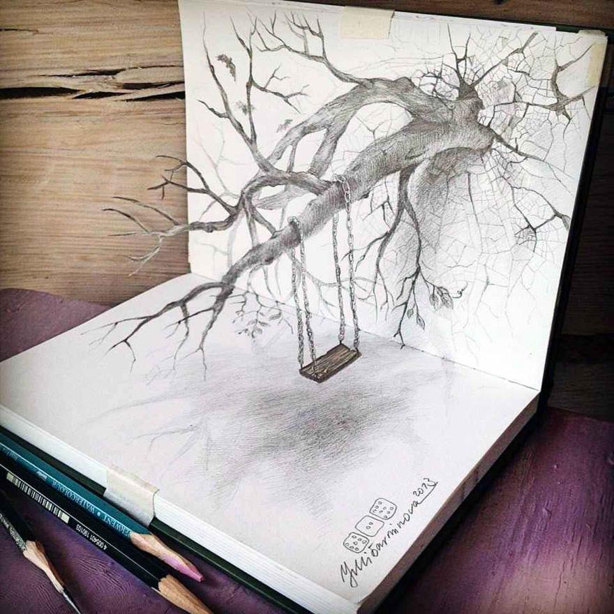Top 10 des illustrations 3D au crayon les plus incroyables