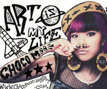 Talent à suivre : Chocomoo, l'artiste japonaise du moment !