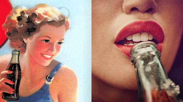Evolution Coca Cola