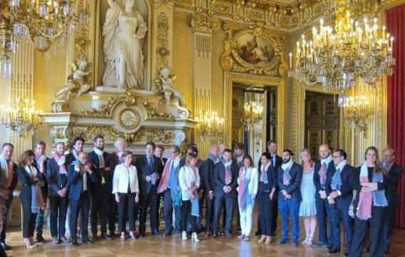 Délégation française du G20 représentant la Frenchtech