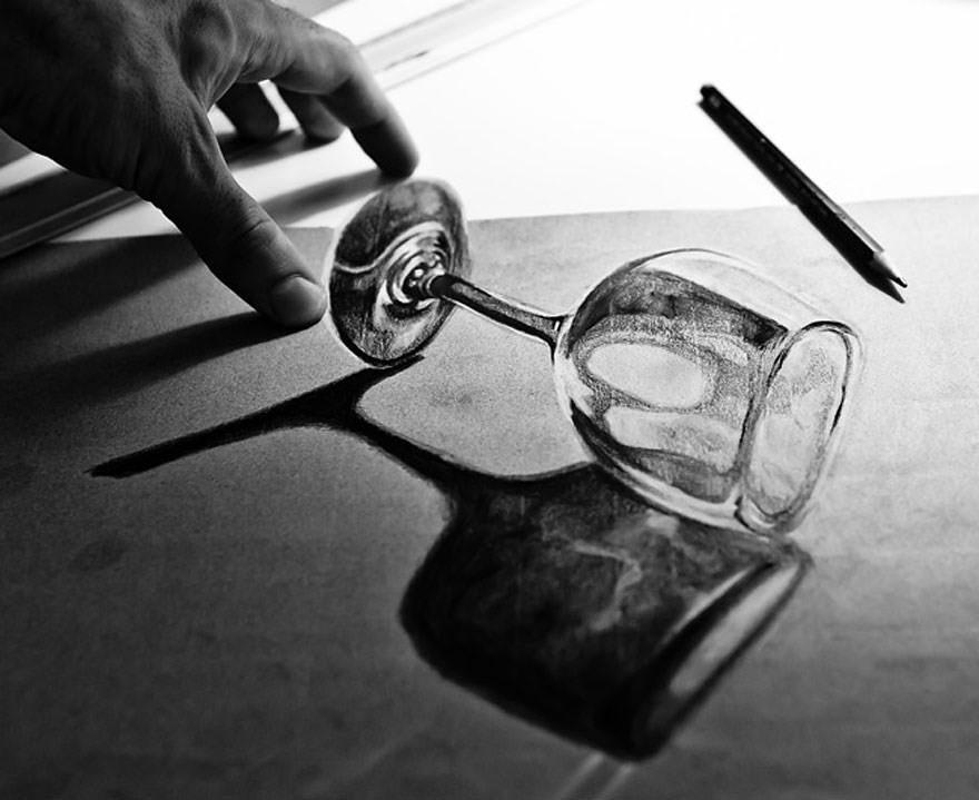 Top 10 des illustrations 3D au crayon les plus incroyablesv