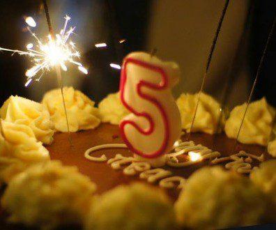 Happy 5 Creads : merci à tous !