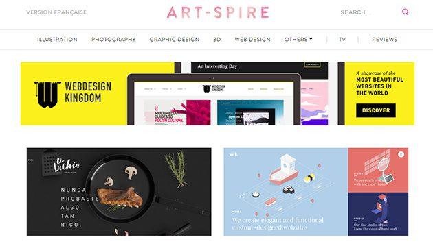 sites inspiration graphique