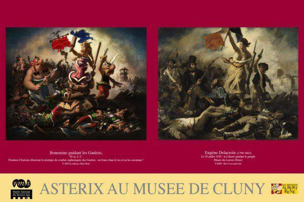Asterix et Obélix fêtent leur 50ème anniversaire au musée de Cluny