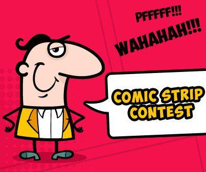 Concours de BD Comic Strip Contest : Les vainqueurs !