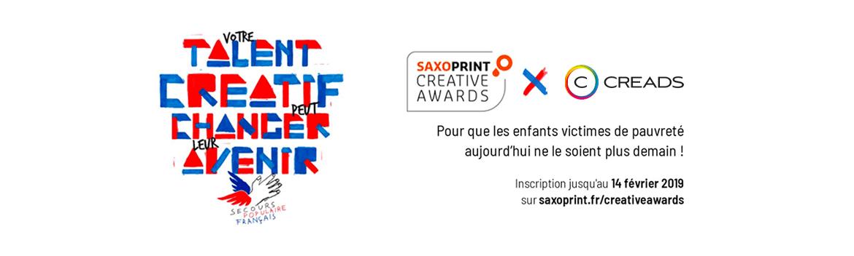 Creads, partenaire des Saxoprint Creative Awards 2019 !