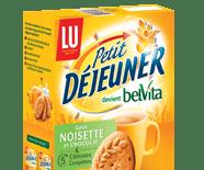 Re-Naming : LU Petit Déjeuner devient Belvita