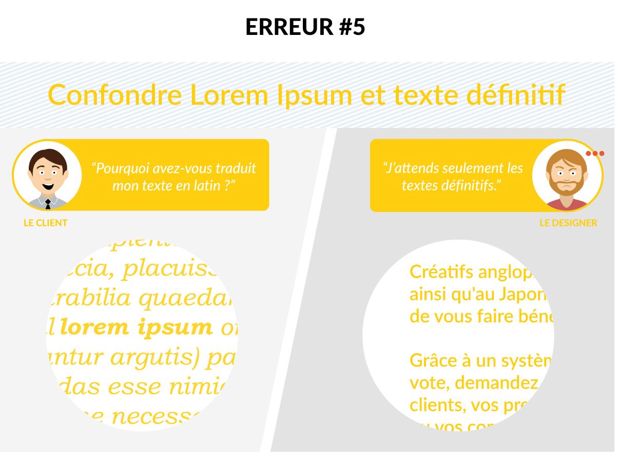 Infographie - client - créatif - creads