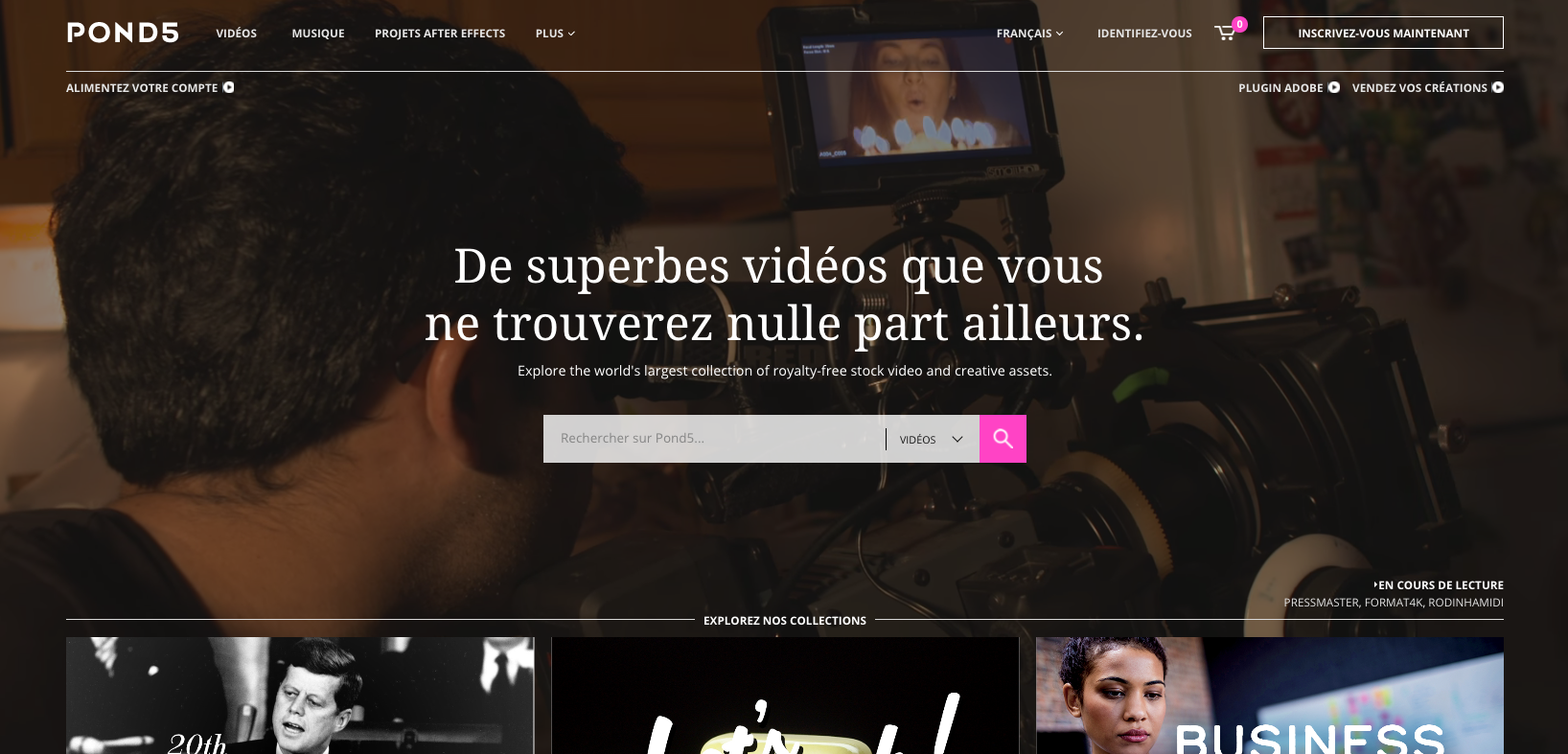 vidéos libres de droits