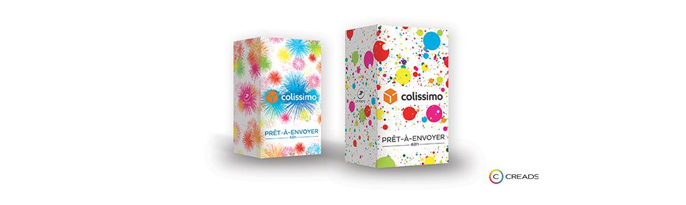 Creads dessine les Editions Limitées de Colissimo !