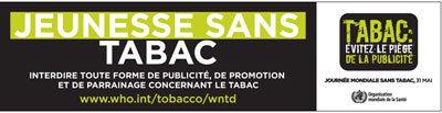 Communication anti tabac