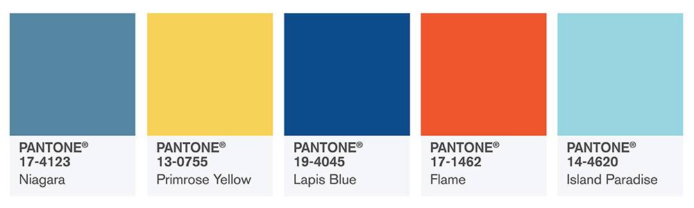 Top 10 des couleurs web tendances en 2017