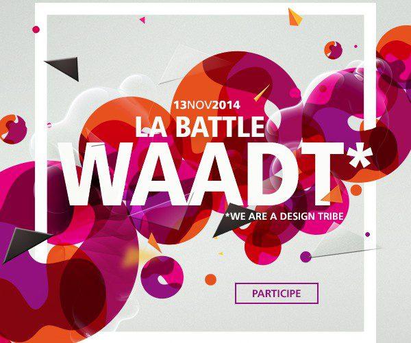 """Creads et Coworkshop organisent leur première battle graphique """"WAADT"""" !"""