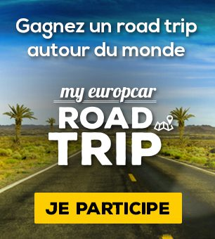 Gagnez un roadtrip avec Europcar