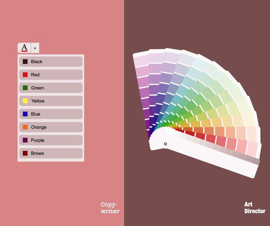 #Illustration : Concepteurs-Rédacteurs vs Directeurs Artistiques