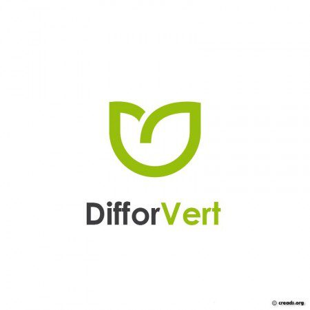 logo Difforvert : fleuriste BtoB