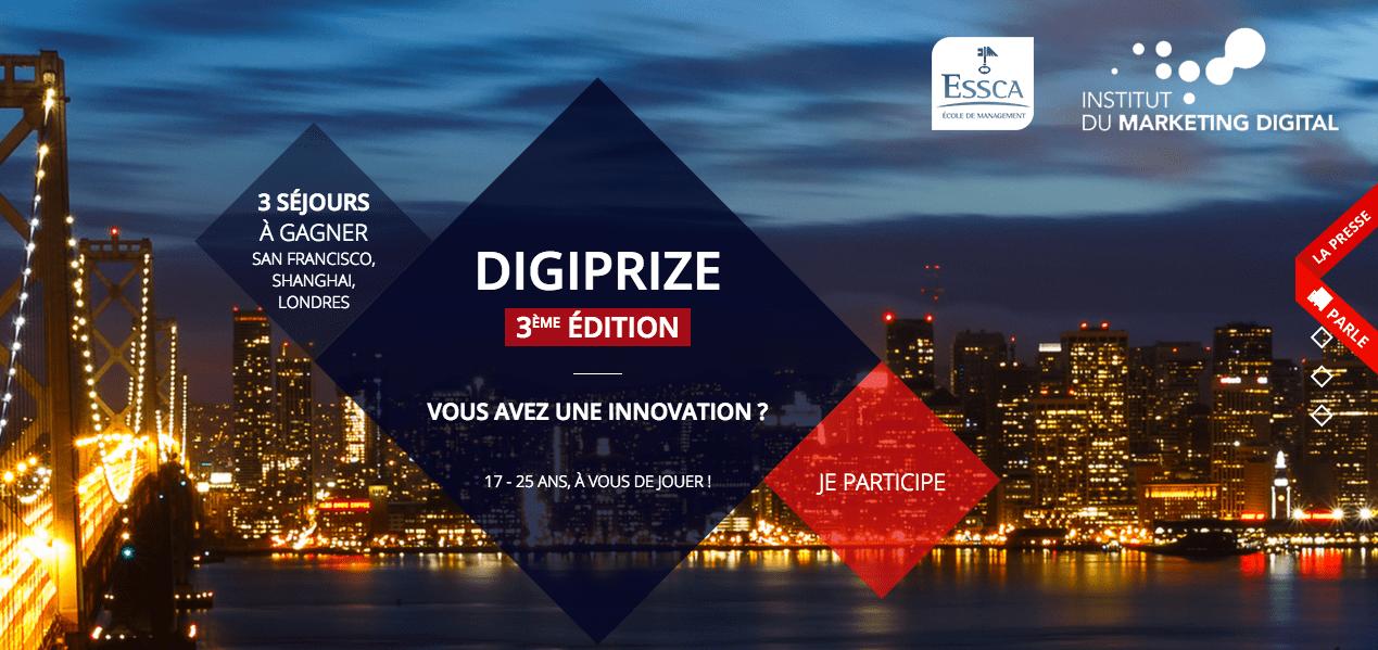 Creads soutient le concours d'innovations digitales Digiprize