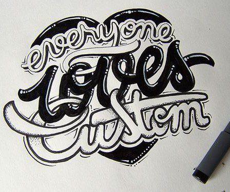 Talent à suivre - Découvrez les typographies de Joachim Vu