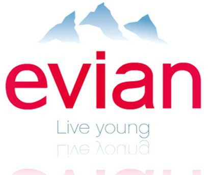 Evian change son image de marque