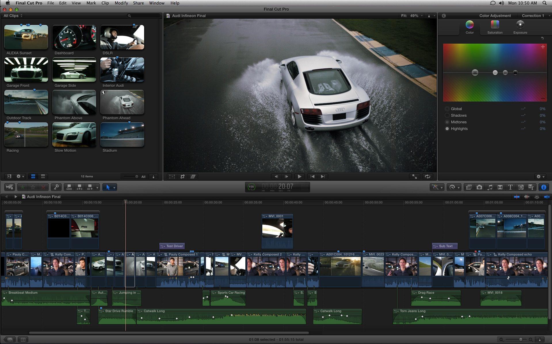logiciels de montage vidéo