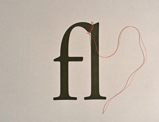 Back to basics : les ligatures en typographie