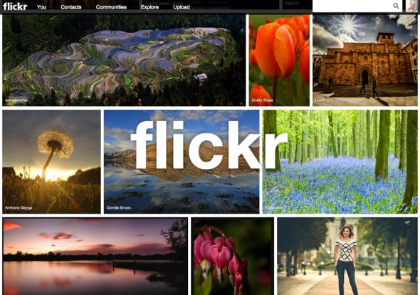 Flickr et la HD