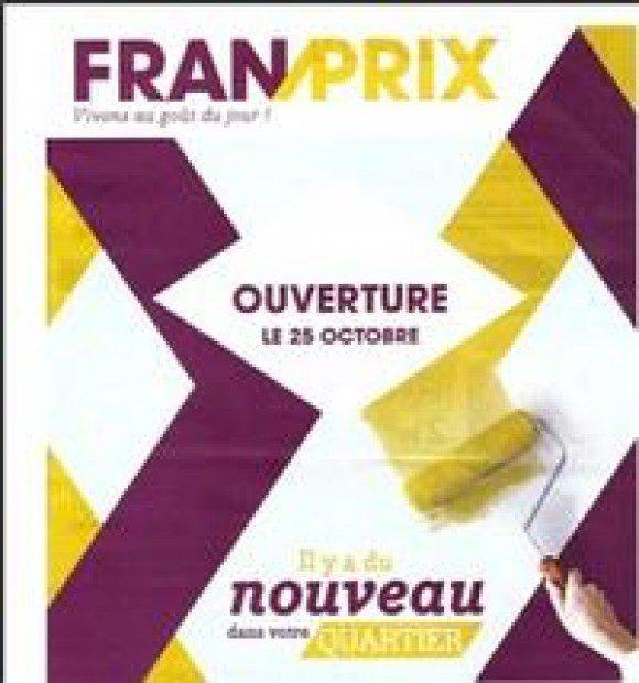 Franprix teste son nouveau logo!