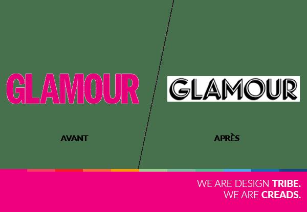 nouveau logo glamour