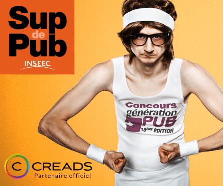 Creads partenaire du concours Génération Pub 2014 !