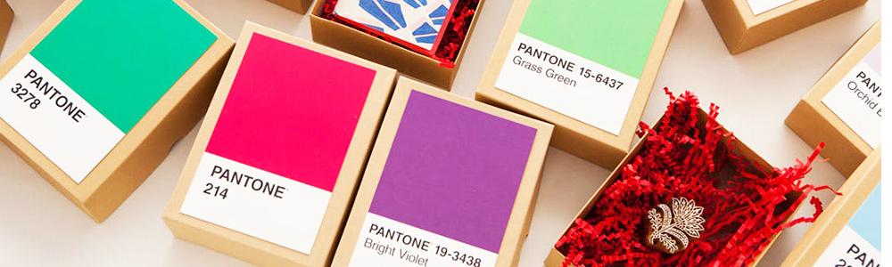Top 10 des packagings inspirés du nuancier Pantone