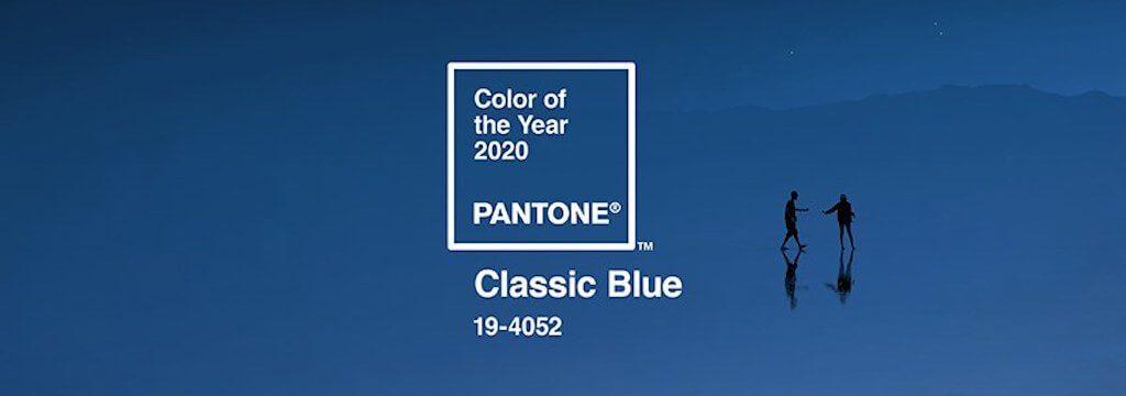 Couleur Pantone 2020 : le Classic Blue sous le feu des projecteurs