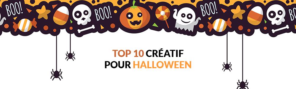 Top 10 des créations inspirantes sur le thème d'Halloween