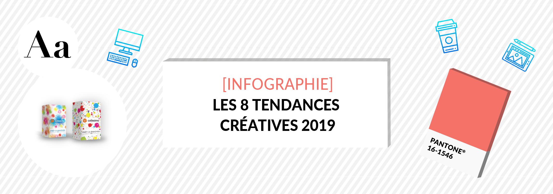 [Infographie] Tendance design : 8 directions créatives à retenir en 2019