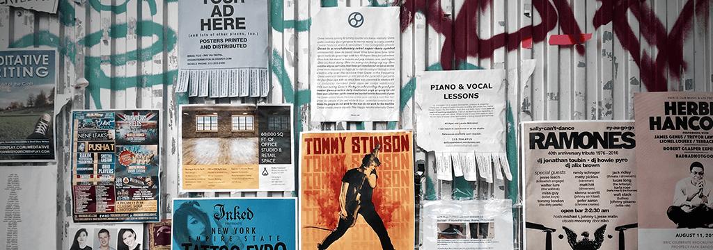 Exemple de flyer : top 10 des meilleures idées créatives