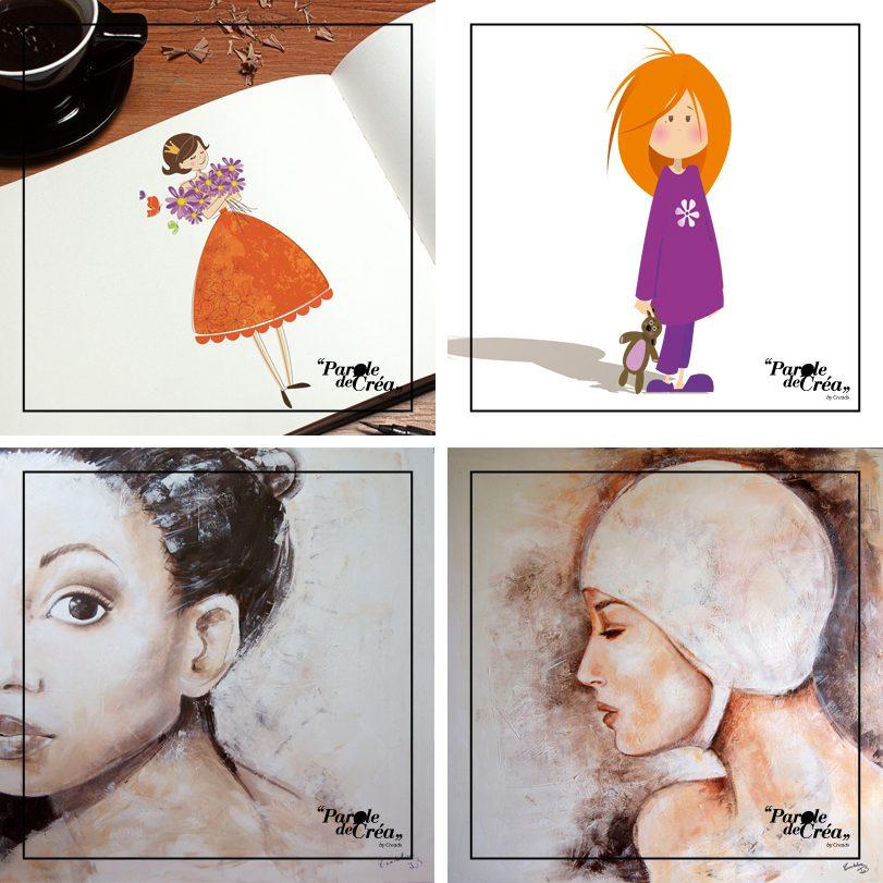 Mistizouk - illustratrice - parole de créa - creads