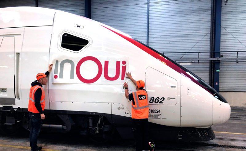 nouveau logo des TGV