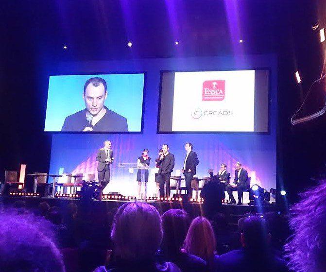 Creads Digital remporte le prix coup de coeur ITNight pour un projet collaboratif !