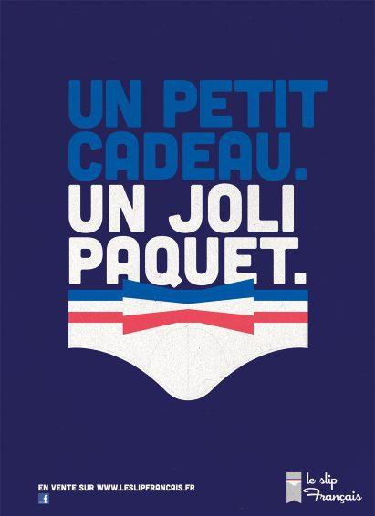 Annonceur Le Slip Français - ©Grand Prix de l'Affichage Indoor