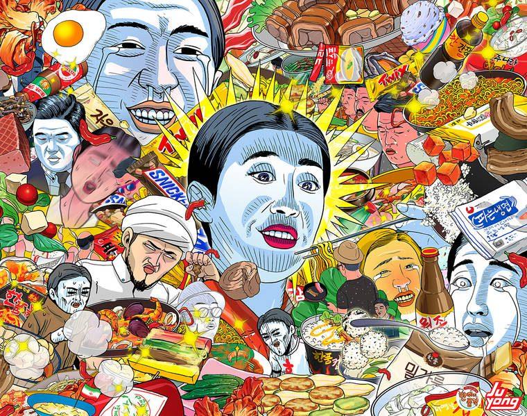 Lee Juyong illustre sa vision de la société moderne
