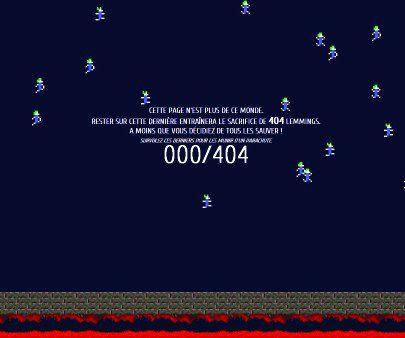 Talent à suivre : Romain Brasier et ses pages d'erreur 404 vidéoludiques !