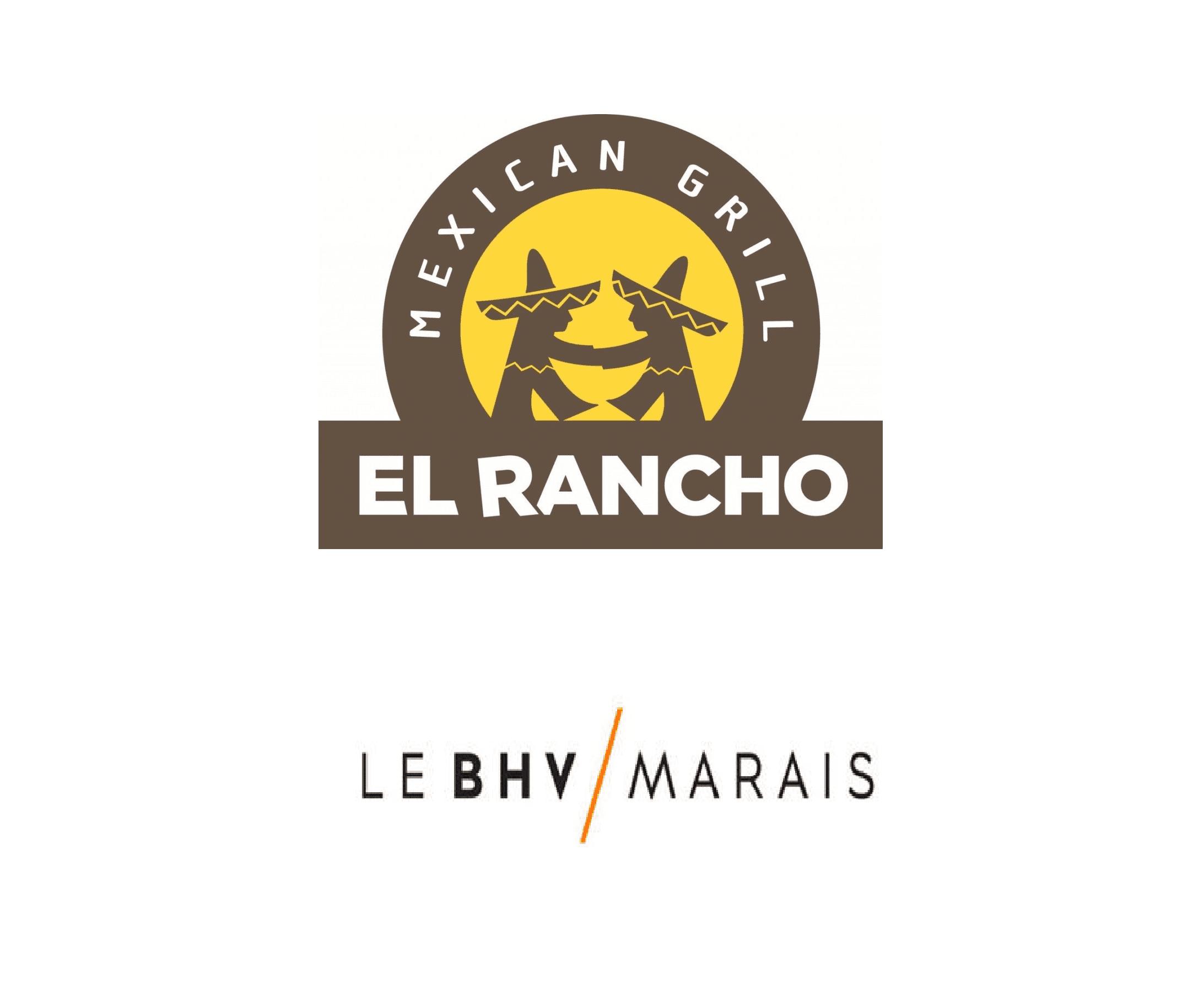 Les nouveaux logos d'El Rancho et BHV