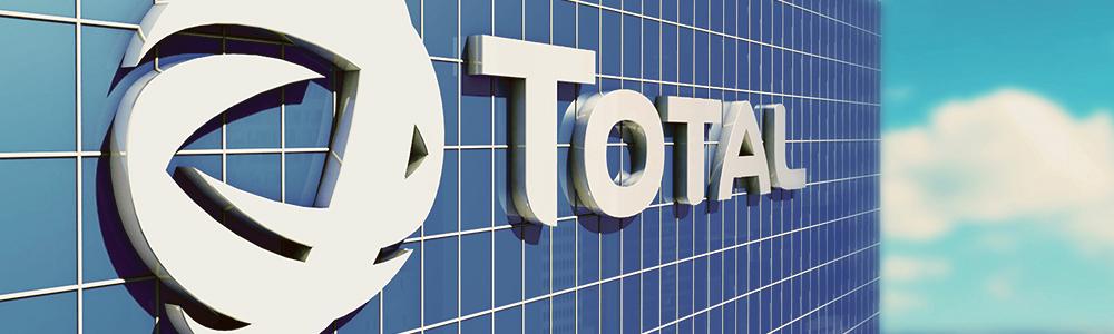Chez Total, le logo aussi a une histoire !