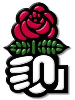 Nouveau logo Parti Socialiste PS