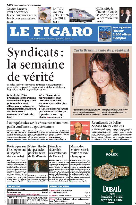 Nouveau design pour Le Figaro