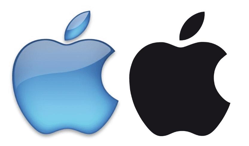 logo monochrome apple agence creads