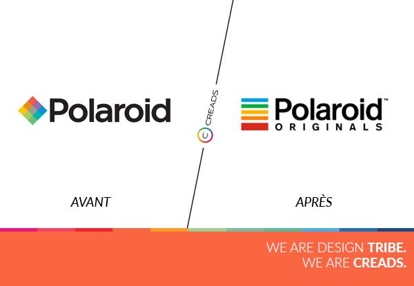 nouveau logo Polaroid